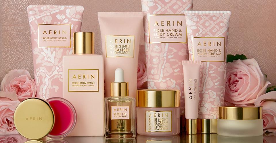 8dc6909ea8 World of Aerin: Rose Bath & Body Collection   Estée Lauder Official Site